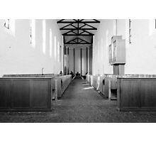 Abbey of Gethsemani - B&W Photographic Print