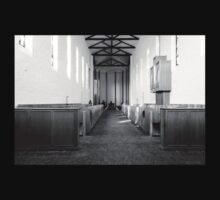 Abbey of Gethsemani - B&W T-Shirt