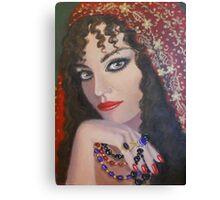 A GYPSY LADY Canvas Print