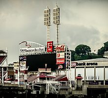 Great American Ball Park 2 - Cincinnati by Mary Carol Story