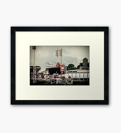 Great American Ball Park 2 - Cincinnati Framed Print