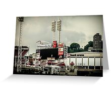 Great American Ball Park 2 - Cincinnati Greeting Card