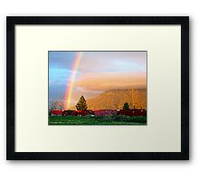 Final Destination Framed Print