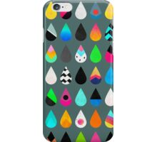 Colorful Rain iPhone Case/Skin