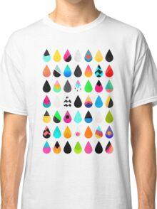Colorful Rain Classic T-Shirt