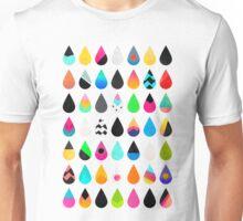 Colorful Rain Unisex T-Shirt