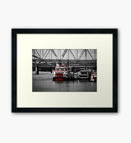 Belle of Cincinnati - SC Framed Print