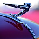 1935 Auburn 851 Supercharged Cabriolet &quot;Goddess&quot; Hood Ornament by Jill Reger