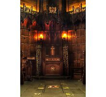 Thistle Chapel Photographic Print