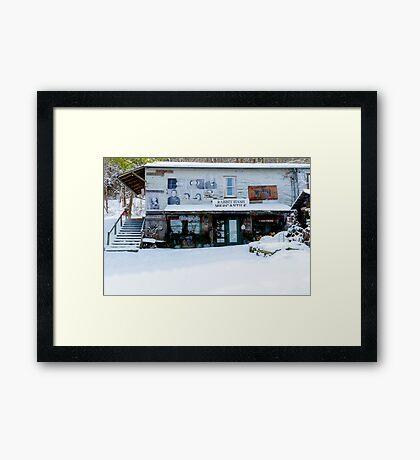 Rabbit Hash Mercantile Framed Print