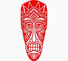 Tiki Mask - Red Unisex T-Shirt