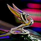 "1935 Chevrolet ""Eagle"" Hood Ornament by Jill Reger"