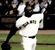 Barry Bonds by jusbere