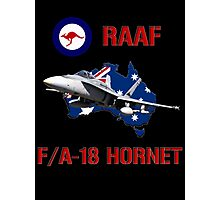 F/A-18 Hornet of the RAAF Photographic Print