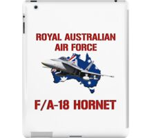 F/A-18 Hornet of the RAAF iPad Case/Skin