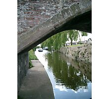 """""""Canal Reflections"""" Photographic Print"""