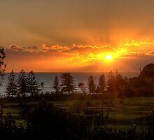 Sunrise at Long Reef by Jason Ruth