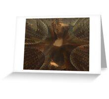 Nude Gioconda Greeting Card
