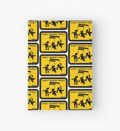 MUSIC CONNECTS PEOPLE Hardcover Journal