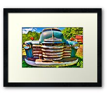 farm truck Framed Print