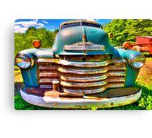 farm truck Canvas Print