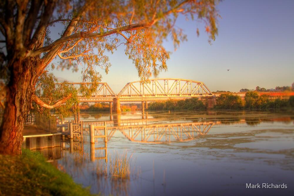 The Bridge - Murray Bridge, South Australia by Mark Richards