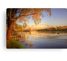 The Bridge - Murray Bridge, South Australia Canvas Print