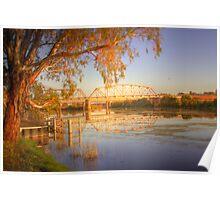 The Bridge - Murray Bridge, South Australia Poster