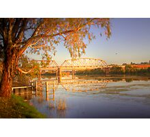 The Bridge - Murray Bridge, South Australia Photographic Print