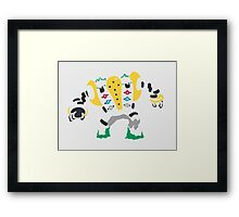 Regigigas (Tribal) Framed Print