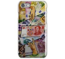 Money Collage iPhone Case/Skin