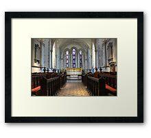 St. Mary The Virgin Church - Minster Framed Print