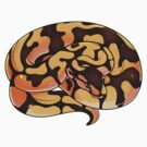 Pastel Ball Python V2 by cargorabbit