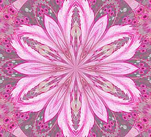 Pink Kaleido Flower by WeeZie