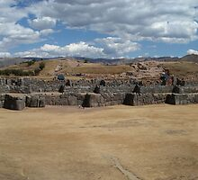 Sacsayhuaman - Cusco, Peru by Edith Reynolds