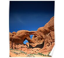 Arch Red Rock Poster