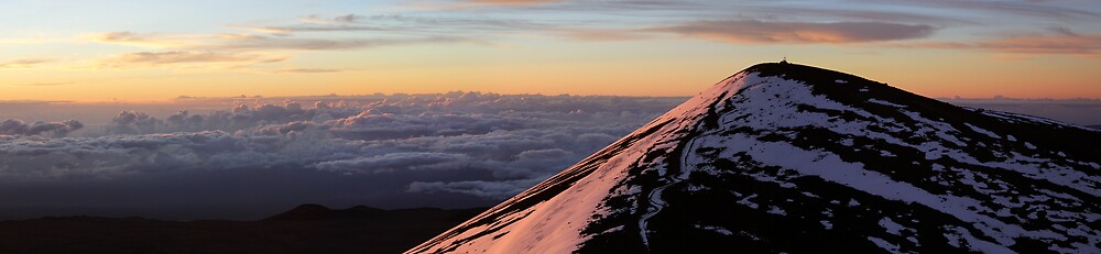 The Big Island of Hawaii - Mauna Kea at Sunrise by Edith Reynolds