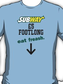 Subway Footlong T-Shirt
