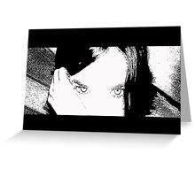 she eyes... Greeting Card