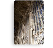 Gothic windows Canvas Print