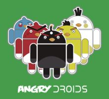 Angry Droids Baby Tee