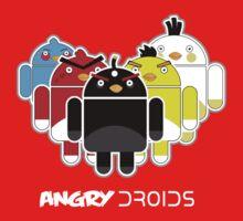 Angry Droids Kids Tee