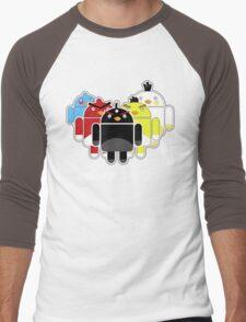 Angry Droids Men's Baseball ¾ T-Shirt