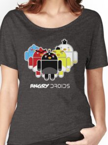 Angry Droids Women's Relaxed Fit T-Shirt