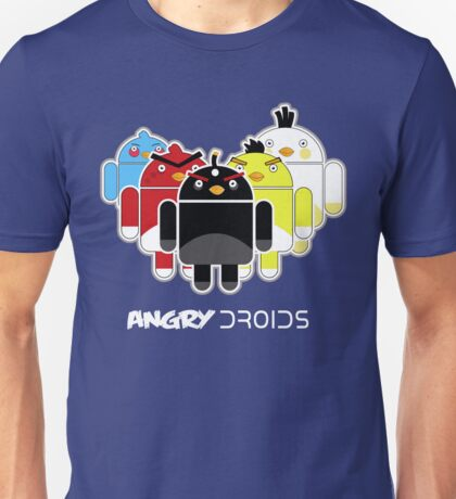 Angry Droids Unisex T-Shirt