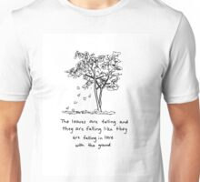 The Leaves Are Falling  Unisex T-Shirt