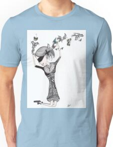 I hear the Butterflies in my Ears -T-shirt Unisex T-Shirt