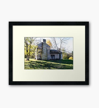 Abraham Lincoln's Birthplace Framed Print