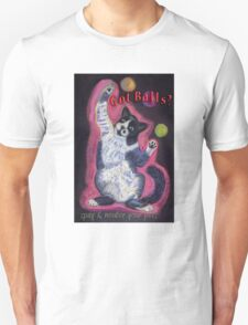 Got Balls? Juggling Cat Unisex T-Shirt