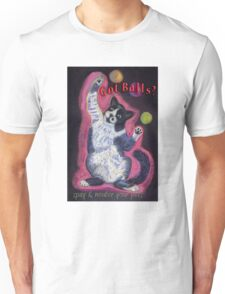 Got Balls? Juggling Cat T-Shirt